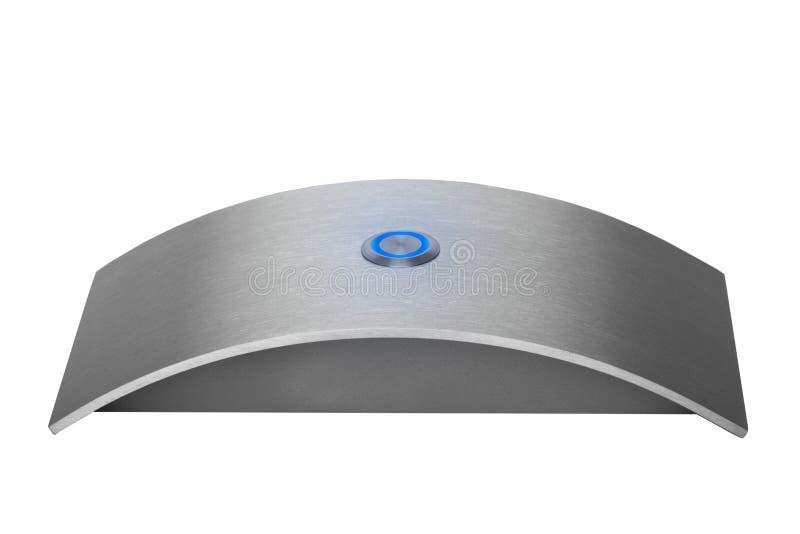нержавеющая сталь дверного звонока стоковое фото