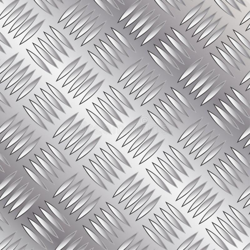 нержавеющая сталь предпосылки иллюстрация вектора