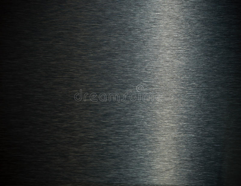 нержавеющая сталь темноты предпосылки стоковое фото