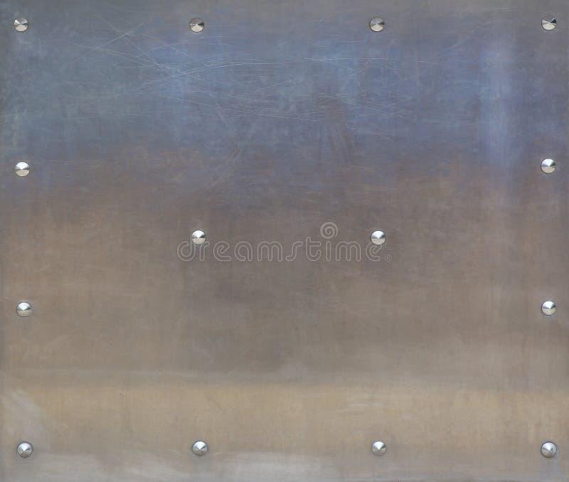Нержавеющая сталь с заклепками стоковые изображения rf