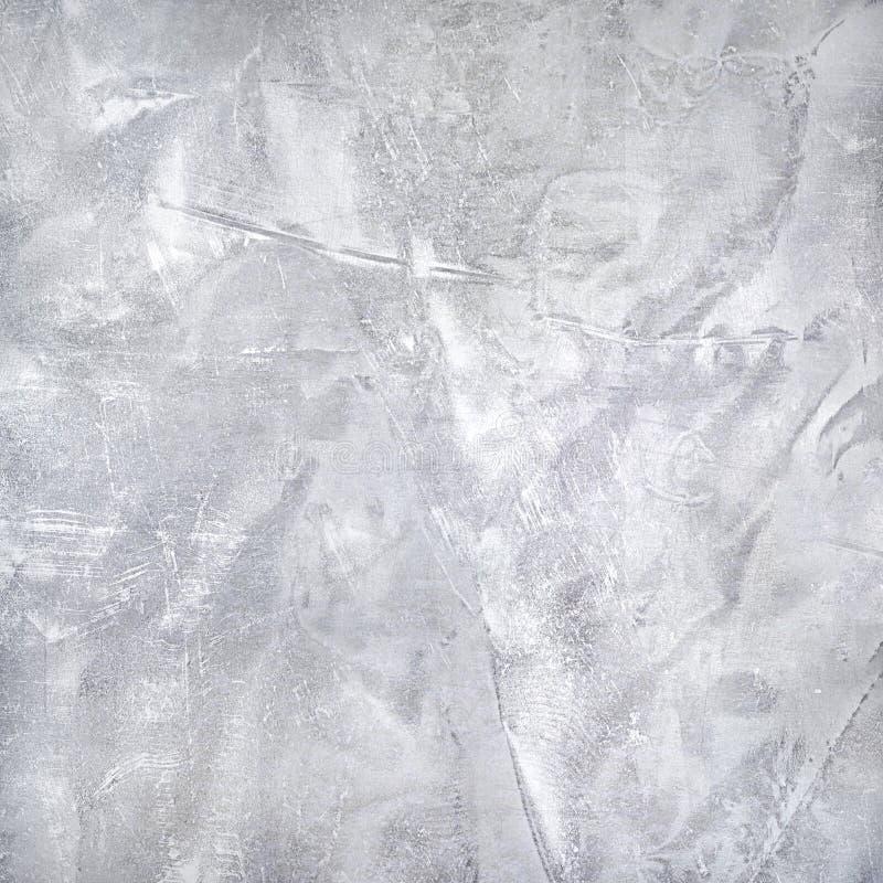Несенная текстура серебряной фольги Предпосылка стали металла стоковые изображения