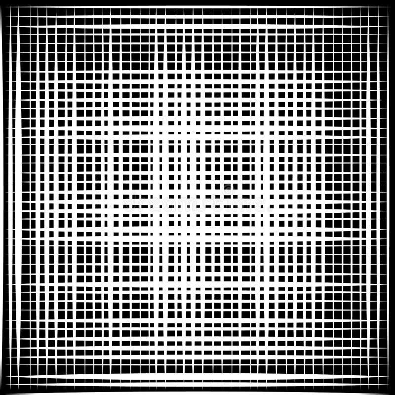 Download Несимметричная картина отверстия щетки скачками Monochrome абстрактный текст Иллюстрация вектора - иллюстрации насчитывающей клетчато, monochrome: 81804476