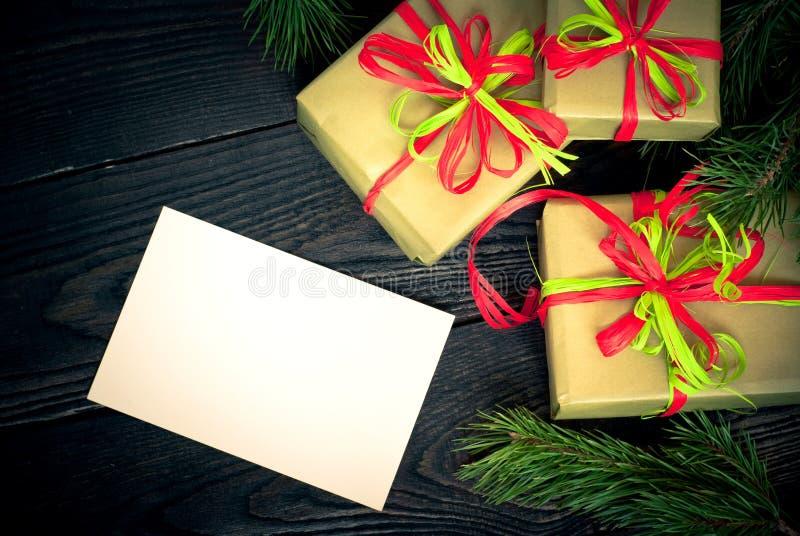 Несколько коробок подарков стоковые фотографии rf