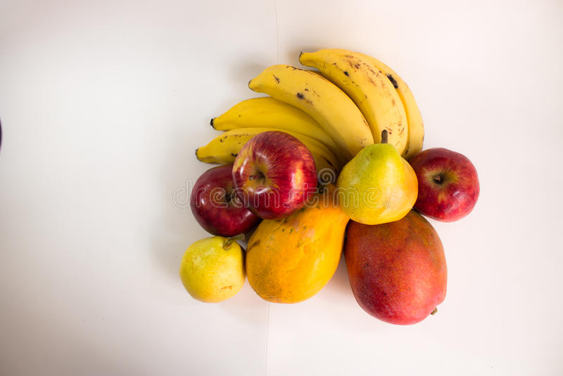 Нескольк зрелый тропический плодоовощ стоковые фотографии rf