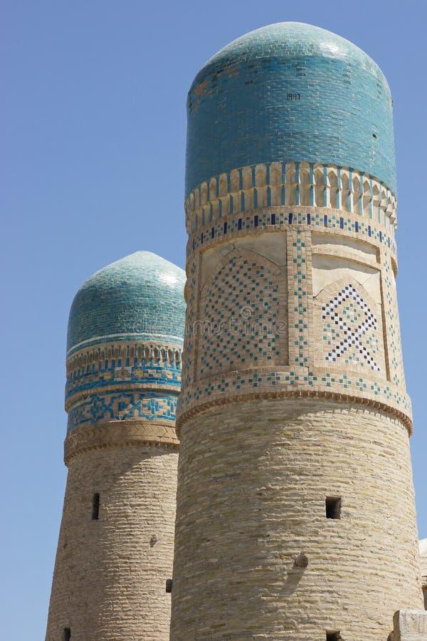Несовершеннолетний Madrassa Chor, Бухара, Узбекистан стоковое фото rf