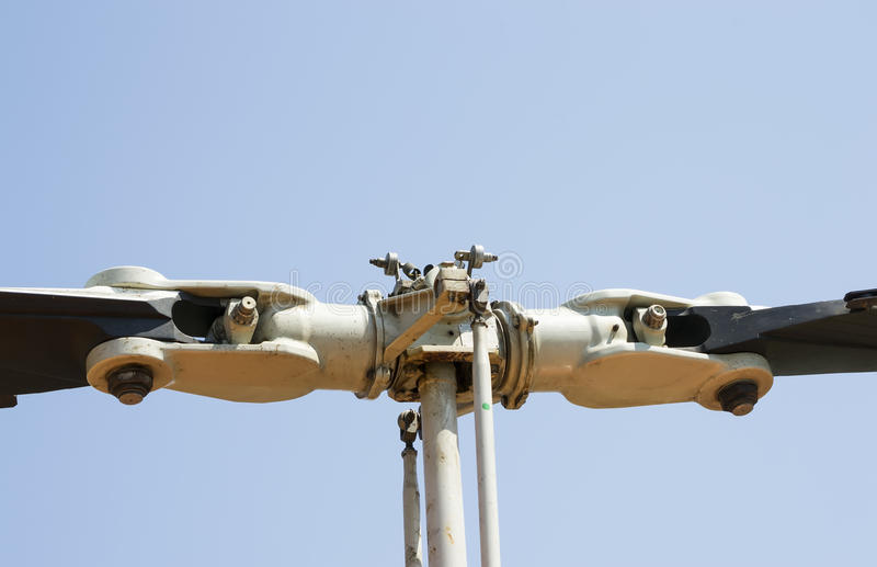 Несущий винт вертолета и лезвия стоковые изображения rf