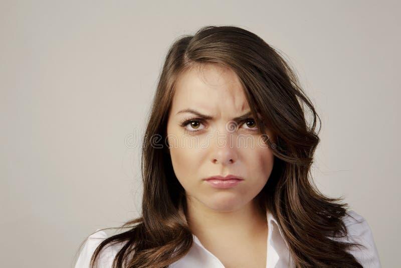 несчастная женщина стоковые изображения