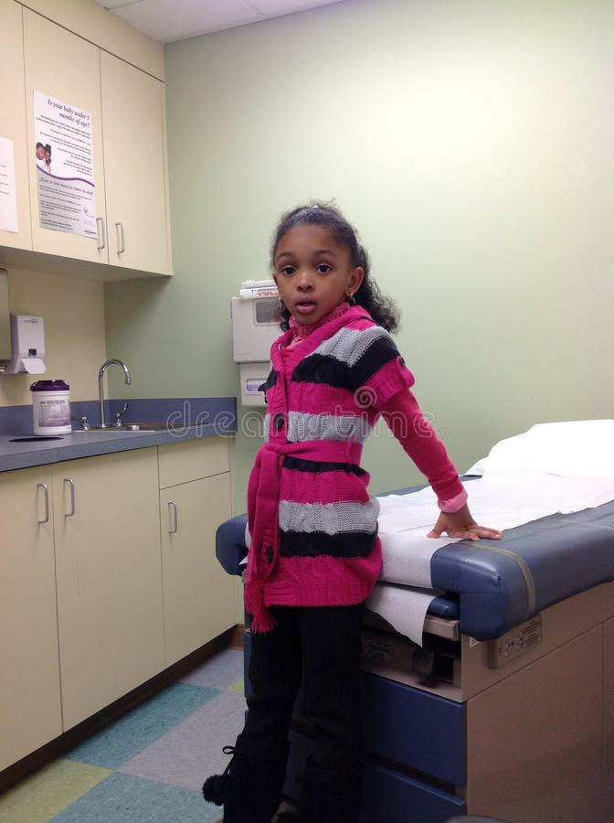 Нетерпеливый пациент стоковое изображение rf