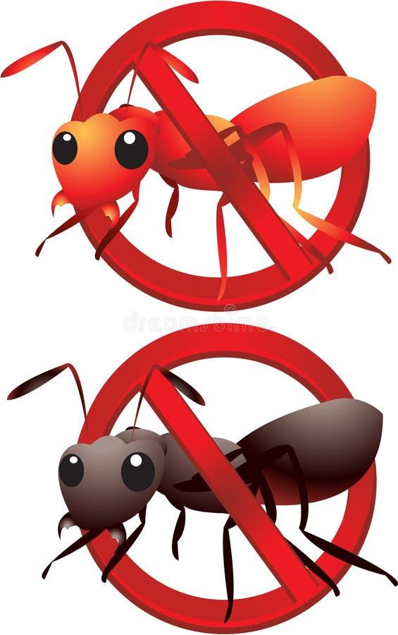 нет муравеев бесплатная иллюстрация