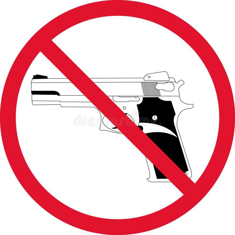 нет пушки иллюстрация штока