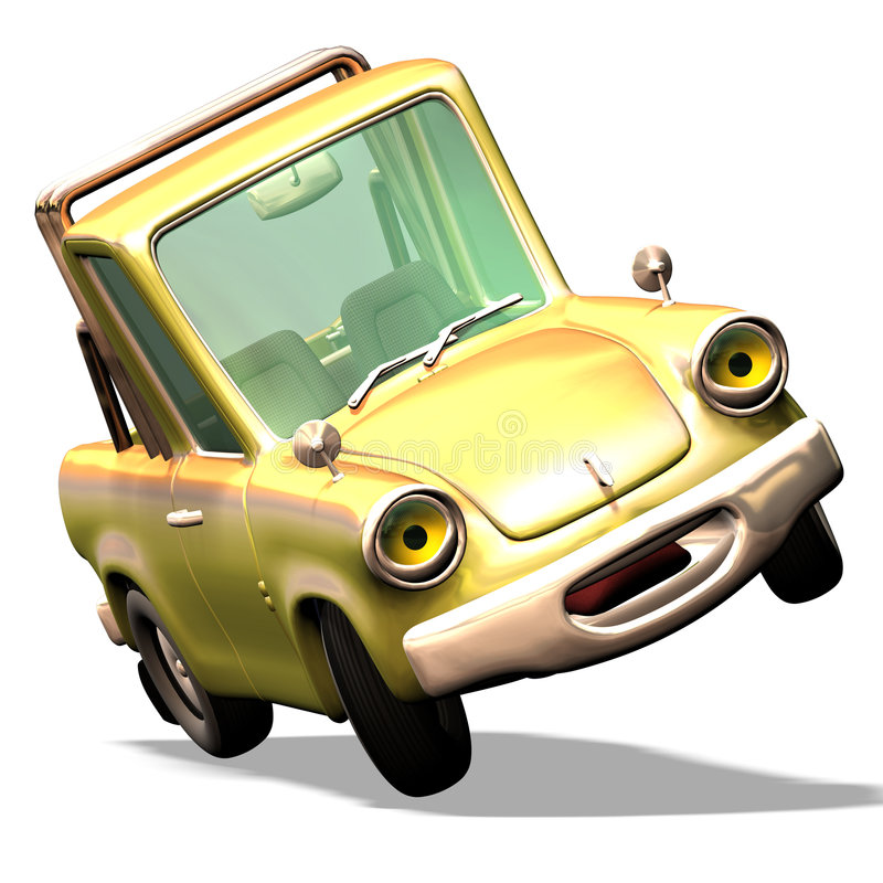 нет шаржа 29 автомобилей иллюстрация штока