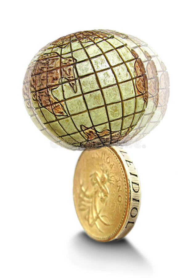 неустойчивое экономии гловальное стоковое фото rf