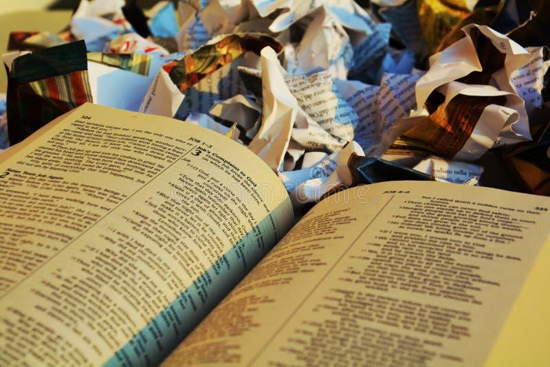 Неучитывание для библии, символ стоковые фотографии rf