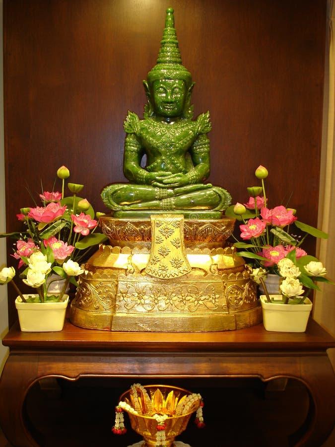 нефрит Таиланд Будды стоковая фотография rf
