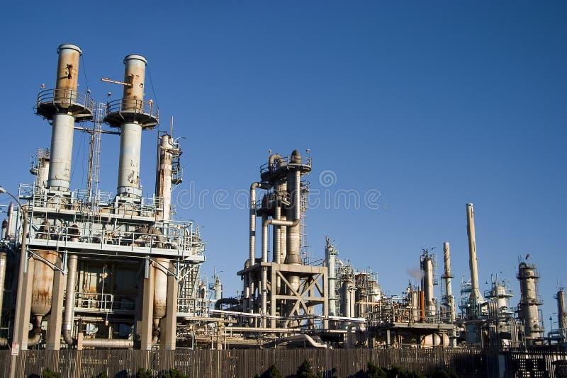 нефтеперерабатывающее предприятие 2 стоковые фотографии rf