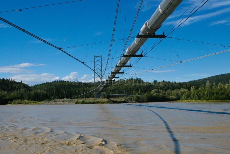 нефтепровод Аляски стоковые фотографии rf