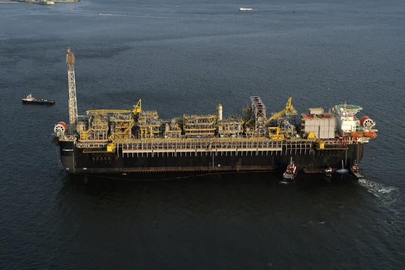Нефтяная платформа P67 стоковая фотография rf