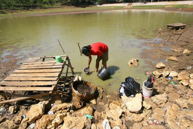 Нехватка воды стоковая фотография rf