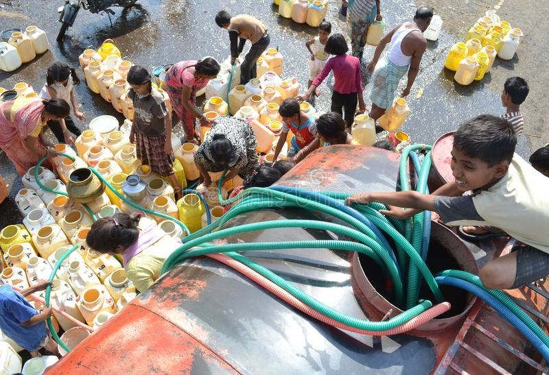 Нехватка воды стоковые изображения