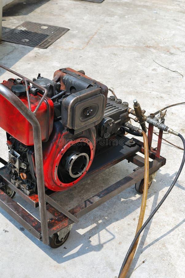 нечистоты оборудования чистки стоковые изображения rf