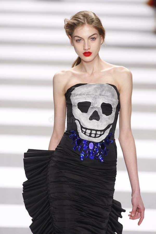 Неделя моды Джин-Чарльза de Castelbajac Парижа стоковое фото rf