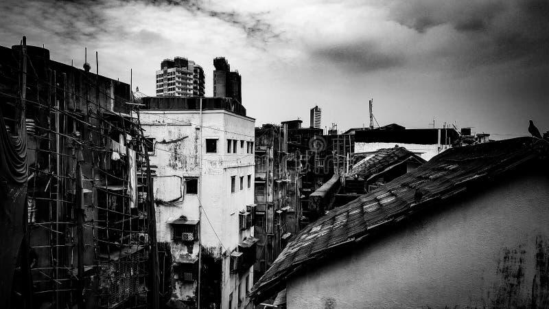 Не настолько шикарный Мумбай стоковое фото