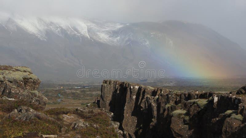 Недостаток Исландии географический стоковое изображение