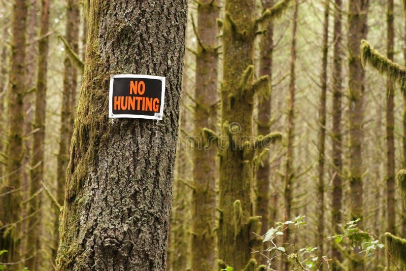 не охотиться нет стоковые фото