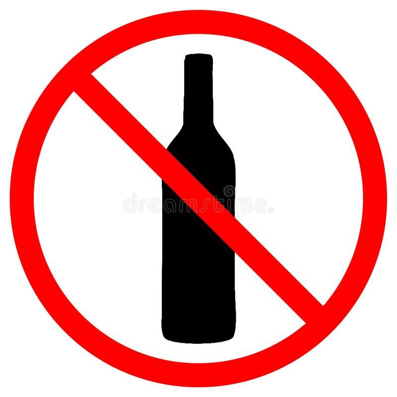 Не питье стоковое изображение