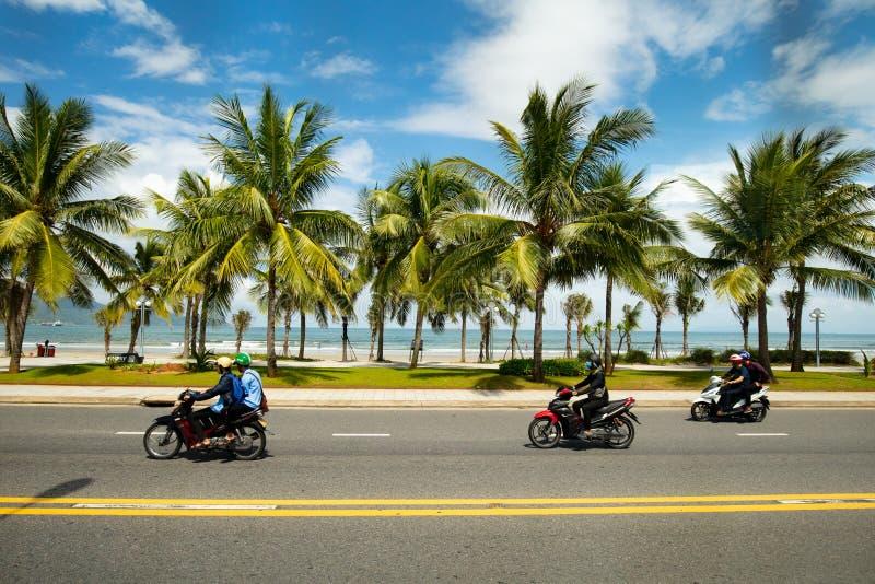 Не пляж Nuoc стоковая фотография rf