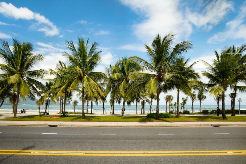 Не пляж Nuoc стоковое изображение