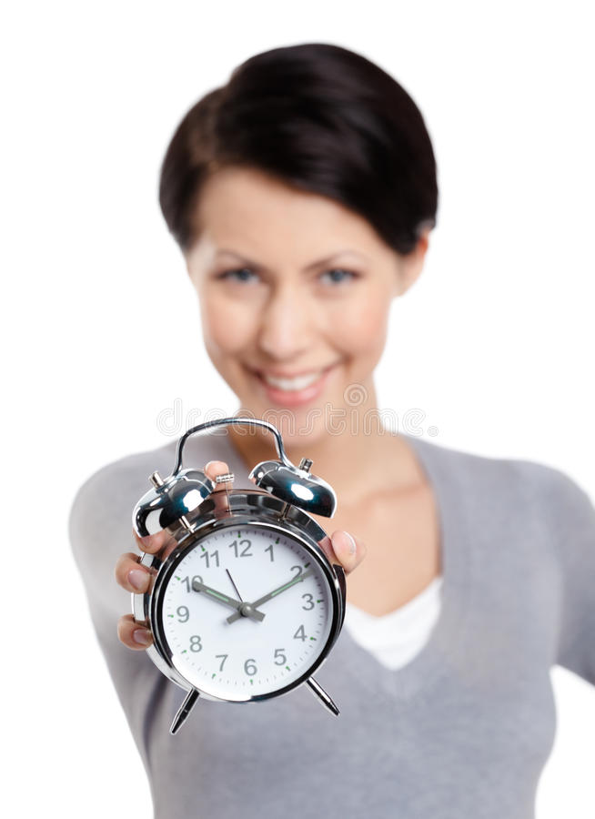 Не расточительствуйте ваше время стоковое изображение rf