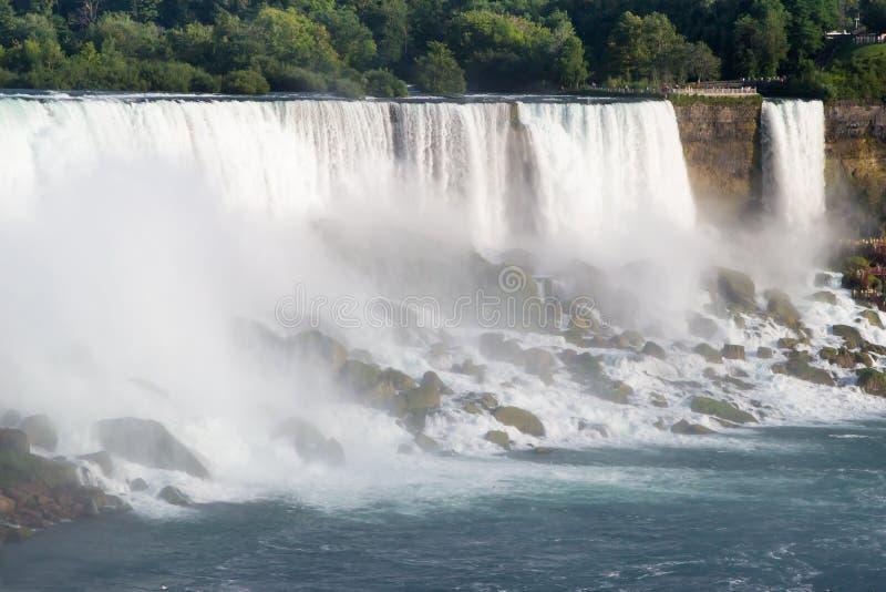 Download Ниагарский Водопад стоковое изображение. изображение насчитывающей падения - 33739483