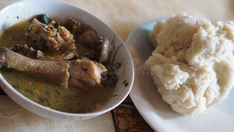 Нигерийская еда стоковые фотографии rf