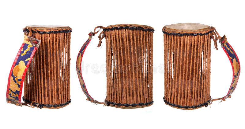 Нигерийский барабанчик стоковые фото