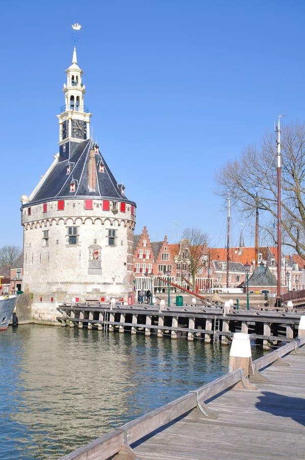 Нидерланды ijsselmeer hoorn стоковое изображение rf