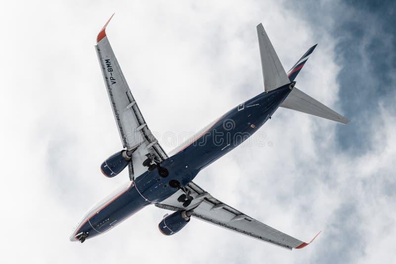 Боинг 737 стоковое изображение