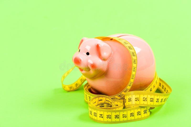 Низкая оплаченная работа диета денег финансы и коммерция Экономика и увеличение бюджета низкая оплата Сохраняя деньги Депозит ?? стоковое фото