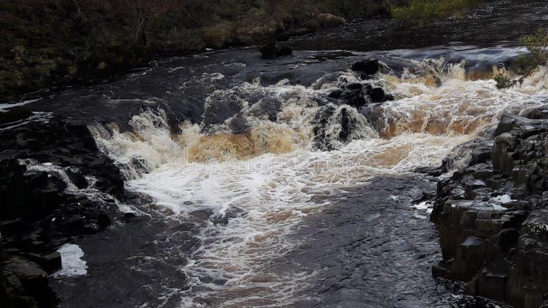 Низкие водопады силы стоковое изображение rf