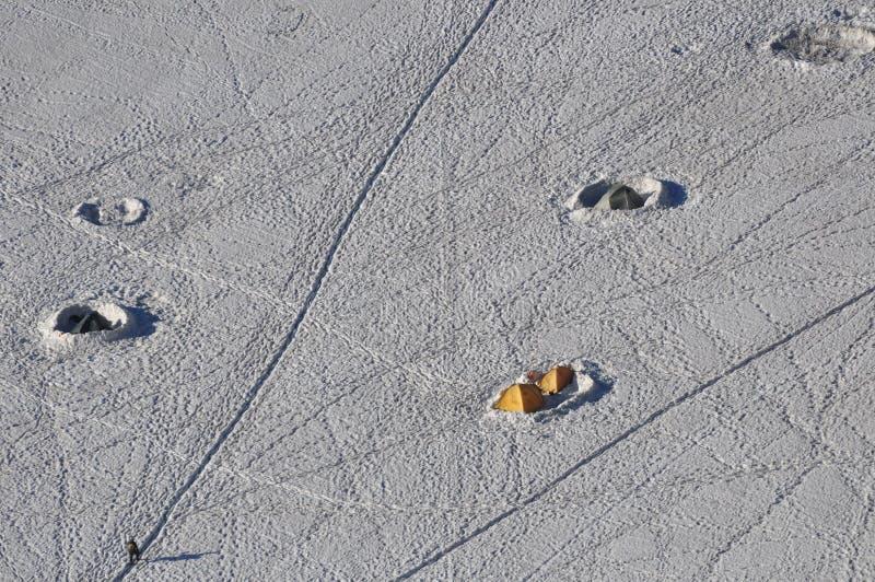 низкопробное mont лагеря blanc стоковая фотография rf