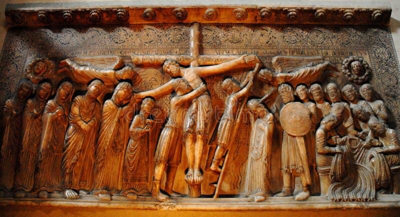 Низложение Христоса стоковые изображения rf