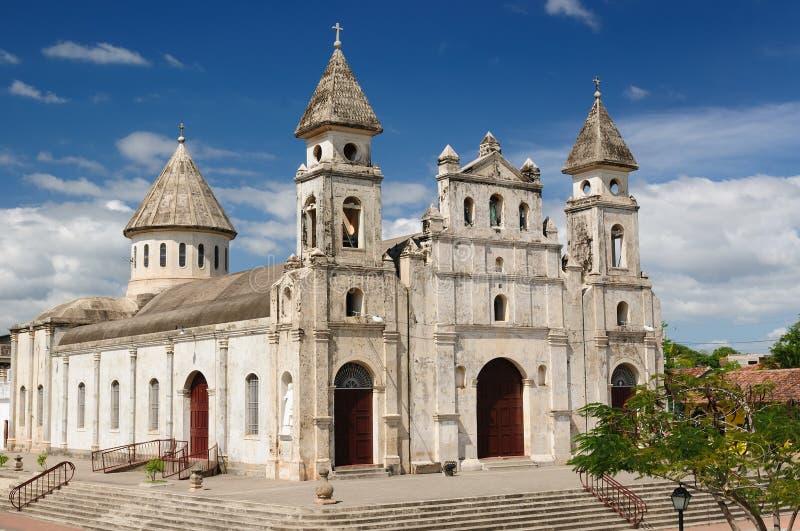 Никарагуа, взгляд на старом Гранаде стоковое фото rf