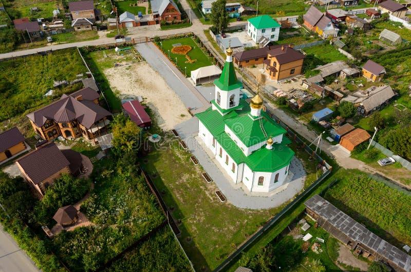 Николас церковь Wonderworker Perevalovo стоковая фотография