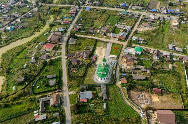 Николас церковь Wonderworker Perevalovo стоковые фото