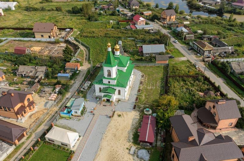 Николас церковь Wonderworker Perevalovo стоковое фото