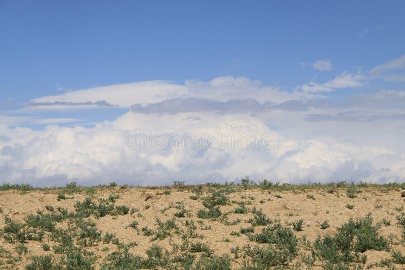 Никто в пустыне сиротливого стоковое изображение