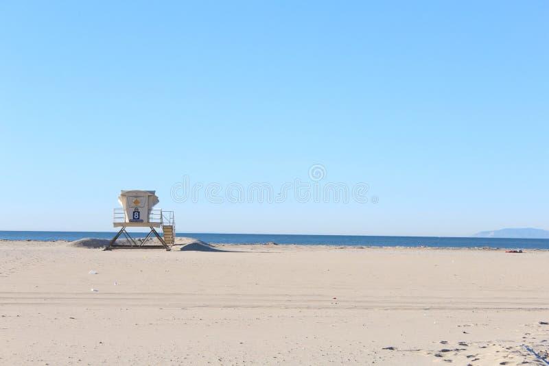 Никто любит тенистый пляж стоковые фото