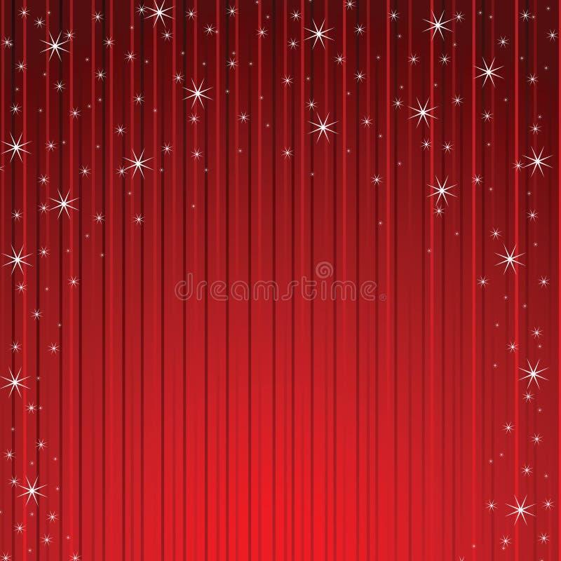 ничходящие красные звезды снежинок бесплатная иллюстрация