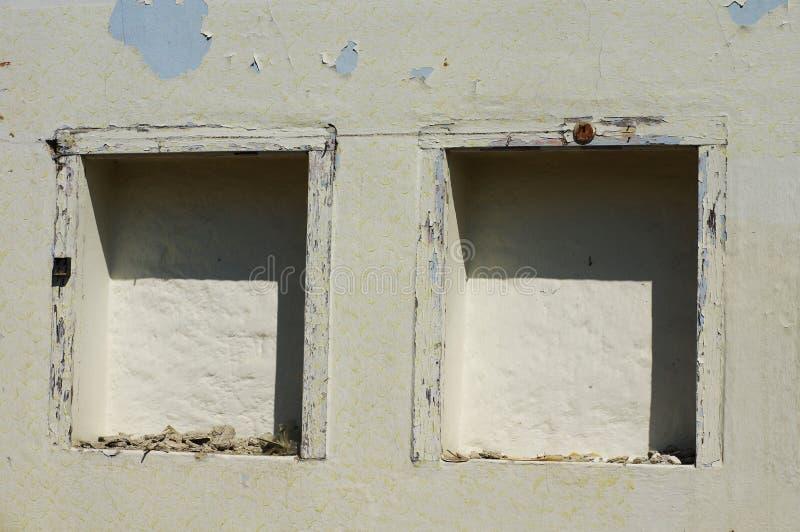 Ниши в стене стоковое изображение rf