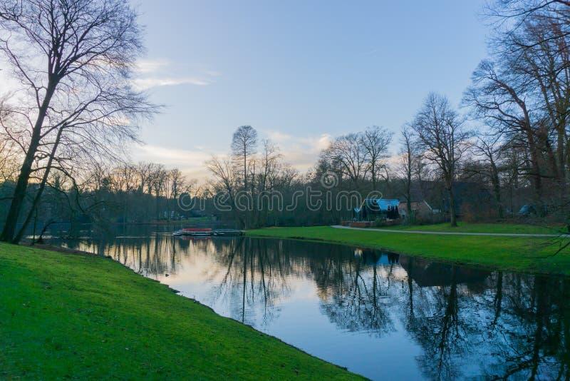 Нидерландский парк стоковые изображения rf